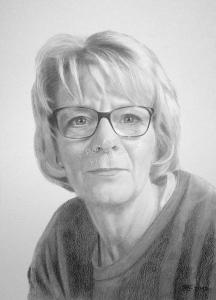 Bleistiftzeichnung, Portraitzeichnung, Bleistiftzeichnungen von Frauen, Bleistift-Portraits, Portraitzeichnungen mit Bleistift
